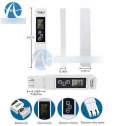3 In 1 TDS EC PPM többfunkciós vízminőségmérő tesztelő toll LCD kijelző