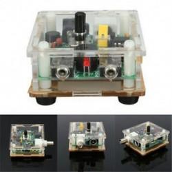 DIY 9-13.8V S-PIXIE CW QRP rövidhullámú rádió adó-vevő készlet 7.023Mhz tokkal