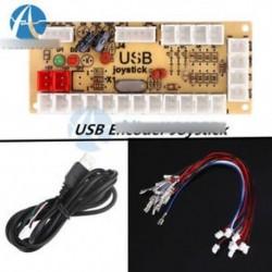 Nincs Zero Delay Arcade USB kódoló PC 5Pin Joystickhoz MAME   nyomógombokhoz Kábel