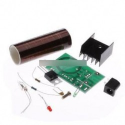 DC 12V Mini DIY Tesla tekercskészlet Arc vezeték nélküli villamos energiaátviteli világítás
