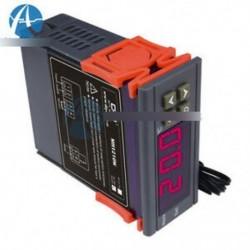 """90 ~ 250V 10A digitális hőmérséklet-szabályozó érzékelő termosztát -50 ~ 110 """"w / érzékelő"""
