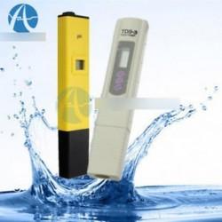 Digitális PH mérő   TDS tesztelő akvárium medence hidroponikus vízfigyelő 0-9999 PPM