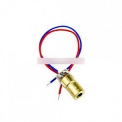 50PCS 650nm 5 mW lézeres piros pontmodul piros lézeres látómező lézerdióda lézer mutató