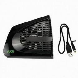 POP fekete USB UP hűtőventilátor külső oldali hűtő az Xbox 360  Legújabb Slim