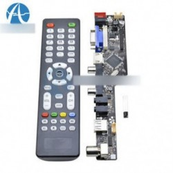V29 univerzális LCD TV vezérlőpanel TV alaplap VGA / HDMI / AV / TV / USB Új