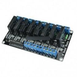 250V 2A 5V 8 csatornás alacsony szintű trigger Arduino szilárdtest relé modul   biztosíték