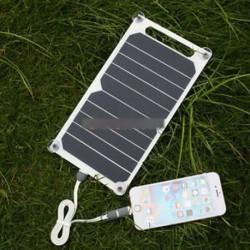10W 5V hordozható napelemes tápegység töltő Samsung IPhone panelgéphez
