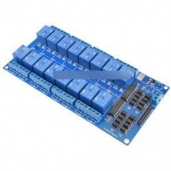 16-csatornás, 5V-os relé-árnyékoló modul, optocsatolóval Arduino újhoz