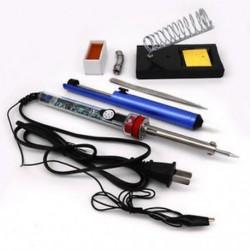 220V 60W állítható elektromos hőmérséklet 905 hegesztési forrasztópáka szerszámkészlet