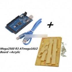 Új Mega2560 R3 ATmega16U2 kártya   akril doboz doboz átlátszó tok