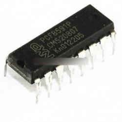 10PCS ÚJ PCF8591P PCF8591 DIP-16 NXP / PHI 8 bites A / D és D / A konverter IC