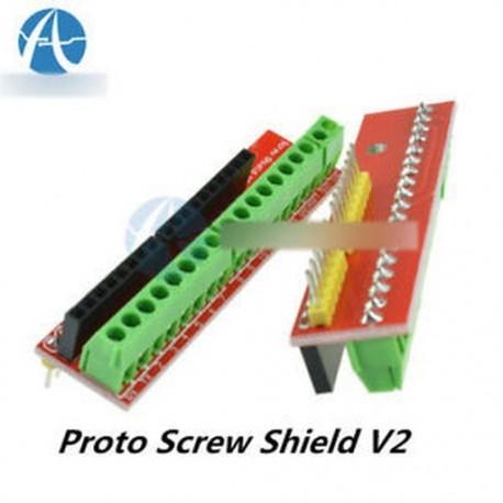 5PCS Arduino Proto csavaros pajzs V2 bővítőlap kompatibilis Arduino UNO R3