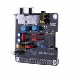 széles - PCM5122 HIFI DAC audio hangkártya modul I2S LED interfész a Raspberry Pi