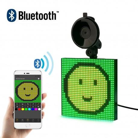 12V Bluetooth RGB szín autó LED kijelző dísz