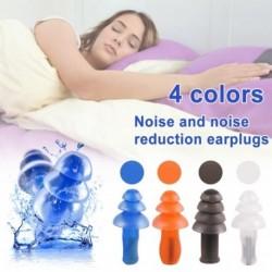 Spirál vízálló szilikon füldugók zajgátló füldugókhoz Kényelmes  kiegészítő