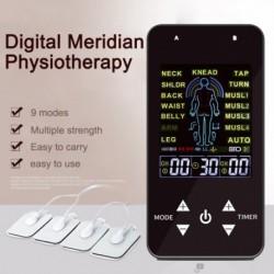 TENS EMS Unit Therapy 4 elektródapadok Fájdalomcsillapító impulzusmasszázs Izomstimuláció