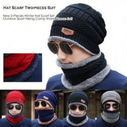 Új, 2 darabos téli kalap sálkészlet szabadtéri sporttúra tábor meleg gyapjú ruha