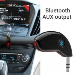 BC20 Bluetooth zenelejátszó Kihangosító BT Aux Adapterhez Car Audio Kit 3,5 mmes Dongle USB töltővel RF