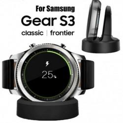 Új vezeték nélküli töltő dokkoló bölcső a SAMSUNG Gear S2 S3 S4 Galaxy karórahoz