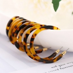 4 pár / készlet Retro bohém fülbevaló  Leopard C fülbevaló  női divat ékszer ajándék