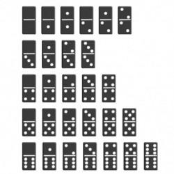 28 db Domino kártyajáték Pai Gow gyerekeknek Interaktív oktatási puzzle játékok Hagyományos kínai játék