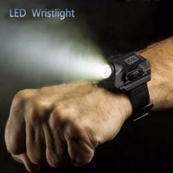 LEDes karosszéria vészvilágító vaku, iránytű vízálló, újratölthető kültéri zseblámpával