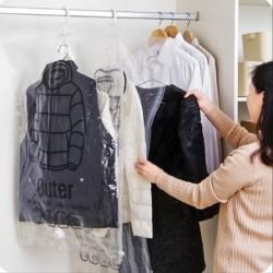 Lógó vákuum kompressziós táska ruházati gyűjtemény táska ruházat porvédő