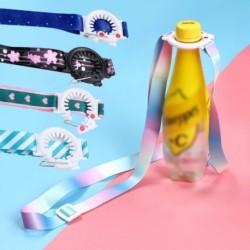 Divat vállpántos csecsemő italtartó palack hevederes vizes palack