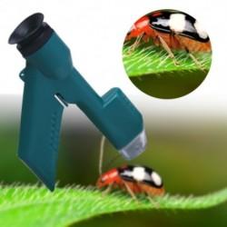 30X kézi zsebmikroszkóp újszerű mini hordozható kreatív játékok diákoknak, gyermekeknek, tudományos kísérleti