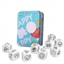 Kocka tanulási játék Kreatív beszéd Család szülők parti Vicces  oktatási játék gyerekeknek Nyelvi készség