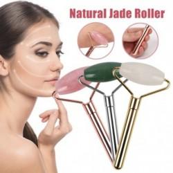 Rose Quartz Roller karcsúsító arcmasszírozó emelő eszköz Természetes jade arcmasszázs  szépségápolás