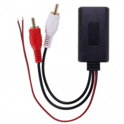 Univerzális autós Bluetooth vezeték nélküli csatlakozó adapter sztereó 2 RCA AUX IN