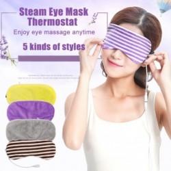 USB melegítő gőzös szemhéjfesték-szemmaszk a sötét kör elleni masszőr fáradtságának enyhítéséhez, alváshoz