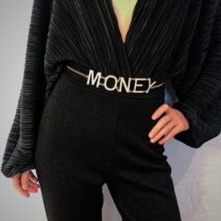Divat kreatív PÉNZNAP Függő derék lánc ruha kiegészítők női test ékszerek