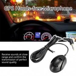 GPS kihangosító mikrofon, külső, 3,5 mm-es autós mono hordozható
