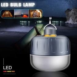 USB-vel újratölthető hordozható kempinglámpa sátorvilágító vészhelyzeti lámpák, vízálló függő lámpa