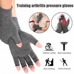 Kompressziós artritisz kesztyű Prémium artritikus ízületi fájdalomcsillapító kézterápia Nyitott ujjak kompressziója
