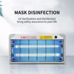 Fertőtlenítő lámpa 360 ° - Függesztett, beltéri ózon-rovarirtó fényű otthoni légtisztító 20W-os mobil étkező