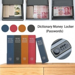 Jelszó típusa Kis méretű otthoni álruhás szótár Könyves széf / Zárolódoboz / Készpénzes ékszer-szekrény
