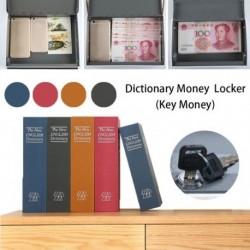 Kulcstípus Kis méretű otthoni álruhás szótár Könyves széf / Zárolódoboz / Készpénzes ékszer-szekrény háztartási