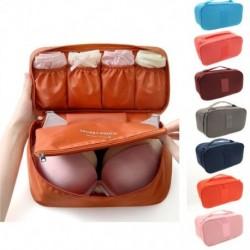 Utazótáska melltartó fehérnemű szervező táska Kozmetikai napi csomagolási kockák Kiegészítők piperecikkek