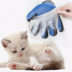 Kisállat kefe Házi kesztyű fésű Kutya macska ápolás tisztító kesztyű haj eltávolító masszázs kefe állati