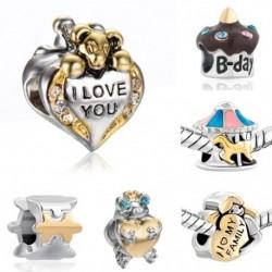 Divat személyiség kreatív szép karkötő gyöngyök DIY kiegészítők ékszer ajándék