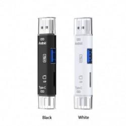 5 az 1-ben USB 3.0 típusú C / USB / Micro USB SD TF memóriakártya-olvasó OTG-adapter