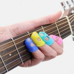 Szilikon ujjvédő első gyakorlati ujjvédő fájdalomcsillapító ujjkészlet gitár kiegészítők