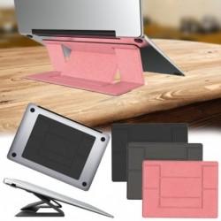 Állítható laptop állvány laptop hordozható csúszásmentes, ragasztó, láthatatlan állványok Összecsukható tartó