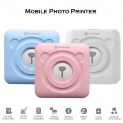 Bluetooth vezeték nélküli kis termikus nyomtató mobil fotónyomtató Android iOS telefonokhoz