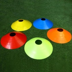10db-os kúpjelző lemezek 20cm-es labdarúgás-futball edzés sport-szórakoztató kiegészítők