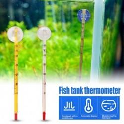 15 cm-es akvárium akvárium hőmérő akvárium merülő üveg hőmérő dekoráció szívókoronggal