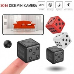 SQ16 HD 1080P Mini kamera videokamera Autós DVR Mozgófelvevő Éjjellátó Videó Sport Sport Mikrokamera kocka Cam
